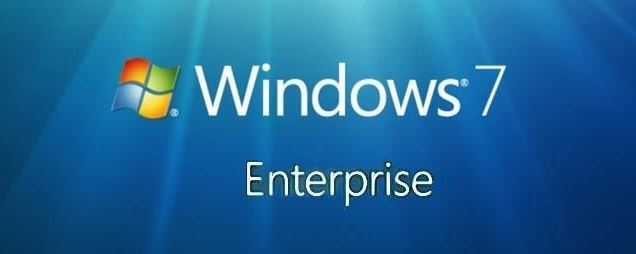ويندوز 7 الشركات