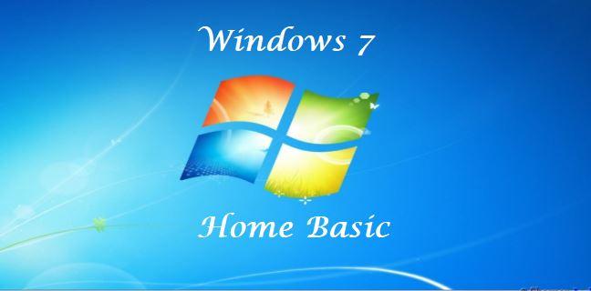 ويندوز 7 هوم بيسك